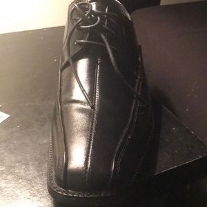 Dress shoes all black